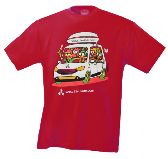 camiseta_Kuku roja