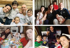 Entrevistas a familias