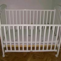 SE VENDE Cuna bebe blanca.